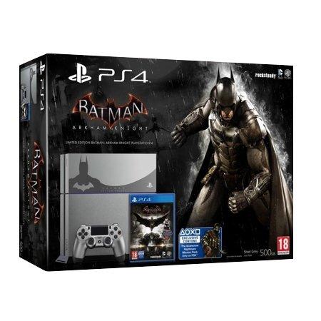 PlayStation 4 Silver PS4 500GB Batman