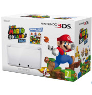 Nintendo 3DS Bianco Super Mario 3D Land Bundle