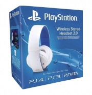 Wireless Stereo Headset 2.0 PS4 Bianche