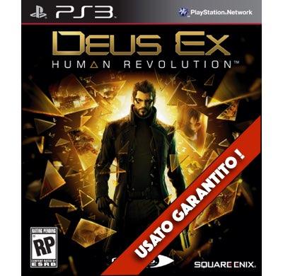 Deus Ex Human Revolution PS3 Usato