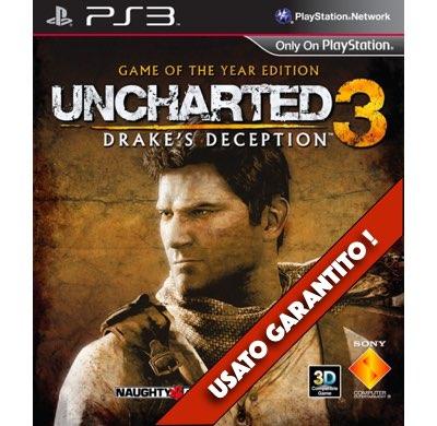 Uncharted 3 L'Inganno di Drake PS3 Usato