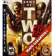 Army Of Two The 40th Day PS3 Usato