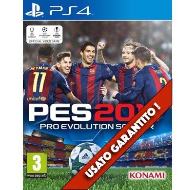 PES 2017 PS4 Usato