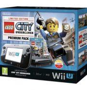 Console Nintendo WiiU Premium Pack 32Gb + Lego City Undercover