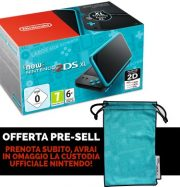 New Nintendo 2DS XL Nero Turchese