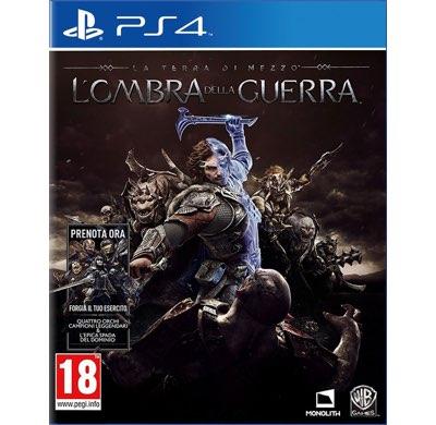 La Terra di Mezzo L'Ombra della Guerra PS4