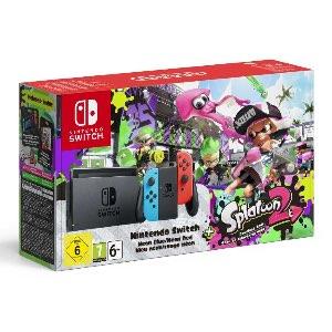 Nintendo Switch Joy-Con Color + Splatoon 2 Bundle