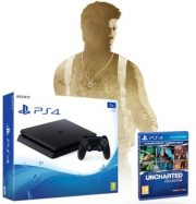 Sony PlayStation 4 PS4 Slim 1Tb + Uncharted Collection