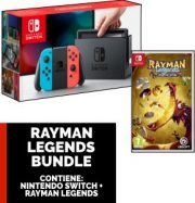 Nintendo Switch Joy-Con Color + Rayman Legends Bundle