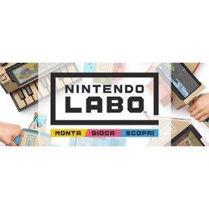 Arriva Nintendo Labo