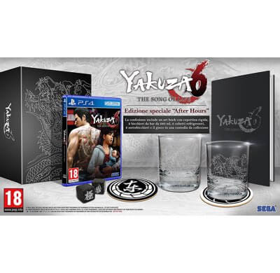 Yakuza 6The Song of Life After Hours Edition PS4