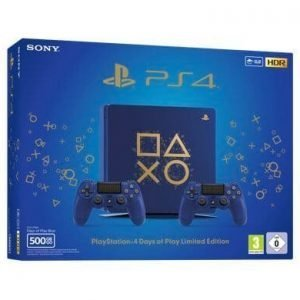 Sony PlayStation 4 PS4 500GB Days of Play + 2° Dualshock 4