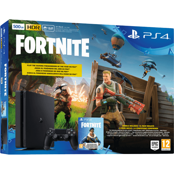 Sony PlayStation 4 PS4 Slim 500 Gb + Fortnite