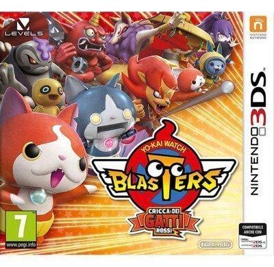 Yo-Kai Watch Blasters Cricca Gatti Rossi