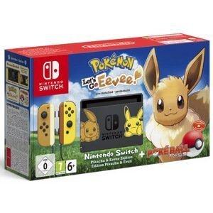 Nintendo Swicth + Pokemon Let's Go
