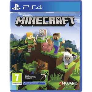 Minecraft PS4 + Starter Pack