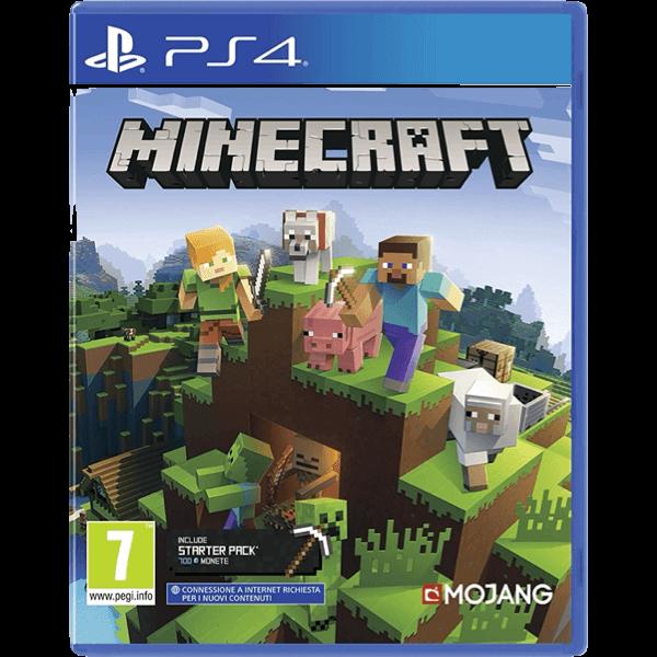 Minecraft PS4 + Starter Pack