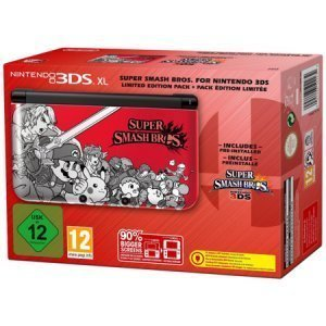Nintendo 3DS XL Super Smash Bros Limited Edition