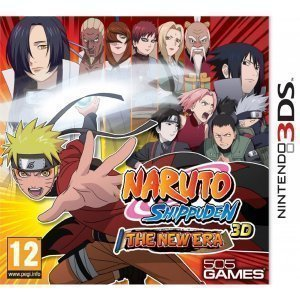 Naruto Shippuden 3D The New Era 3DS