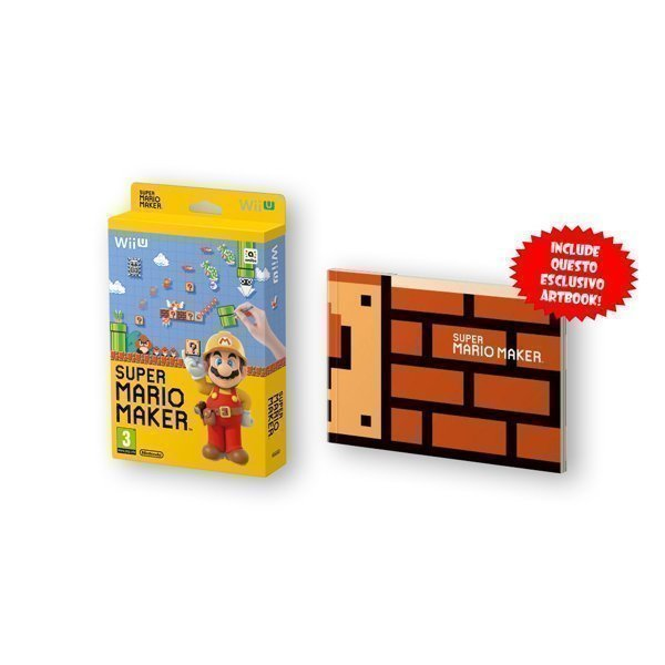 Super Mario Maker WiiU + Artbook