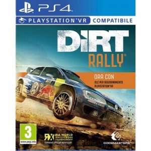Dirt Rally PS4 VR Compatibile