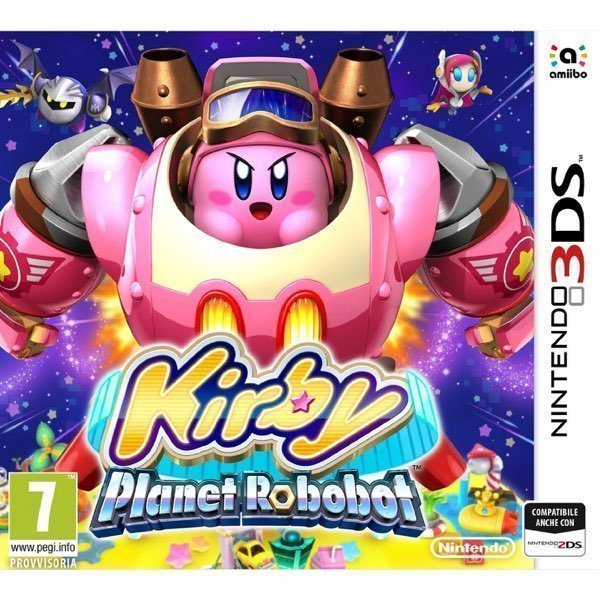 Kirby Planet Robobot Nintendo 3DS