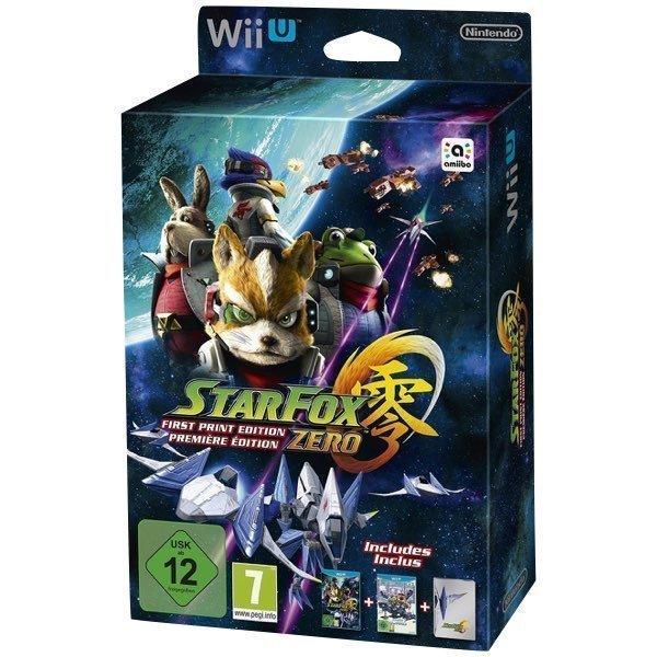 Star Fox Zero First Print Edition WiiU