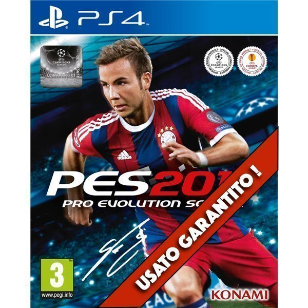 Pro Evolution Soccer 2015 PES 2015 PS4 Usato