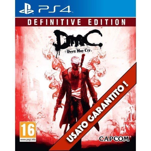 Devil May Cry Definitive Edition (DMC) PS4 Usato