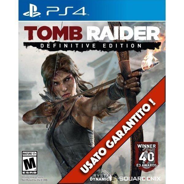 Tomb Raider Definitive Edition PS4 Usato