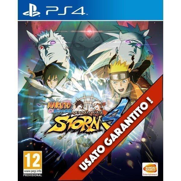 Naruto Shippuden Ultimate Ninja Storm 4 PS4 Usato