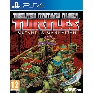 Teenage Mutant Ninja Turtles Mutanti a Manhattan PS4