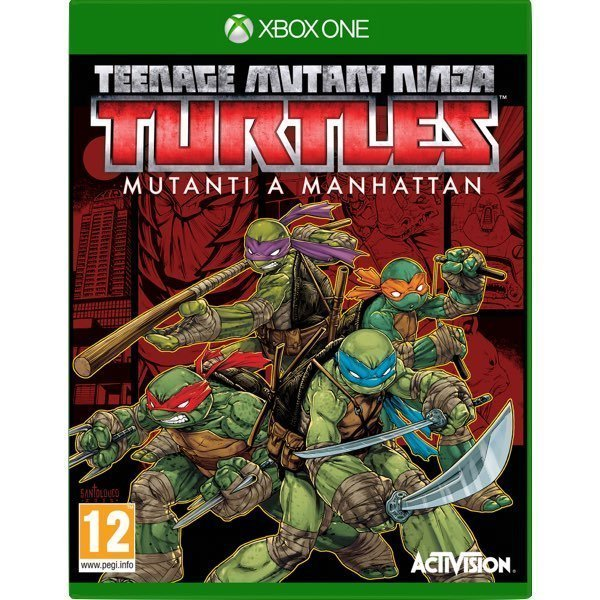 Teenage Mutant Ninja Turtles Mutanti a Manhattan Xbox One
