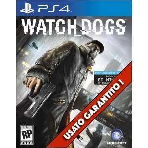 WatchDogs PS4 Usato