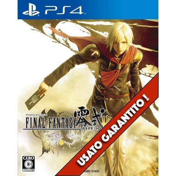 Final Fantasy Type 0 HD PS4 Usato