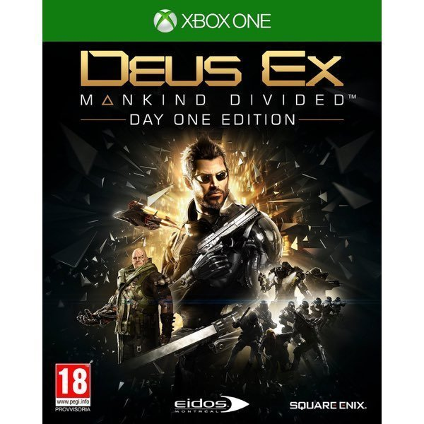 Deus Ex Mankind Divided D1 Edition Xbox One