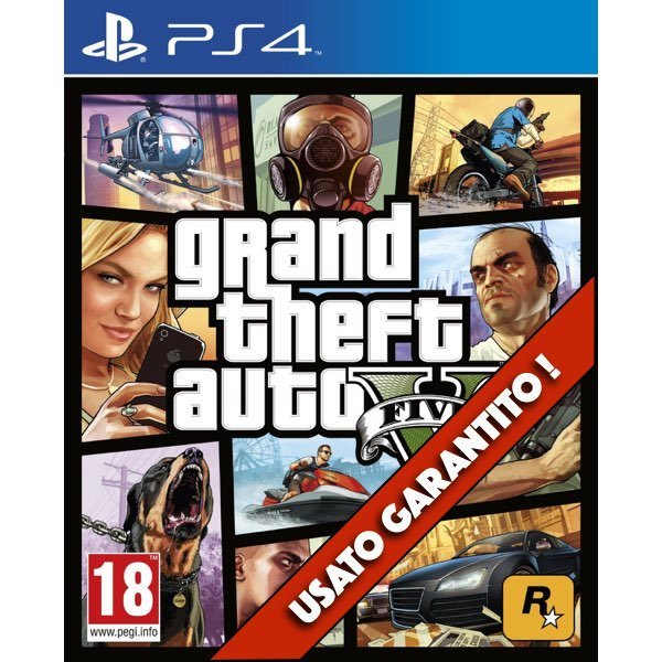 Grand theft Auto V (GTA V) PS4 Usato