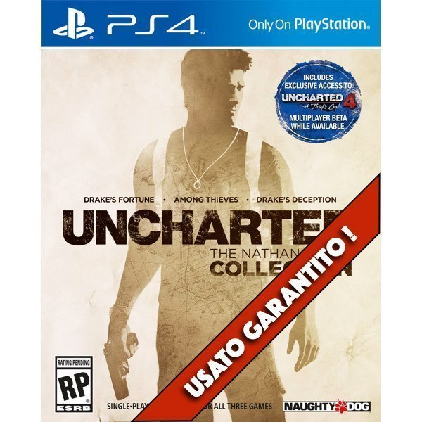 Uncharted The Nathan Drake Collection PS4 Usato