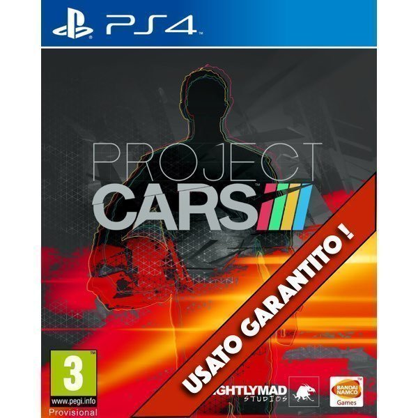 Project CARS PS4 Usato