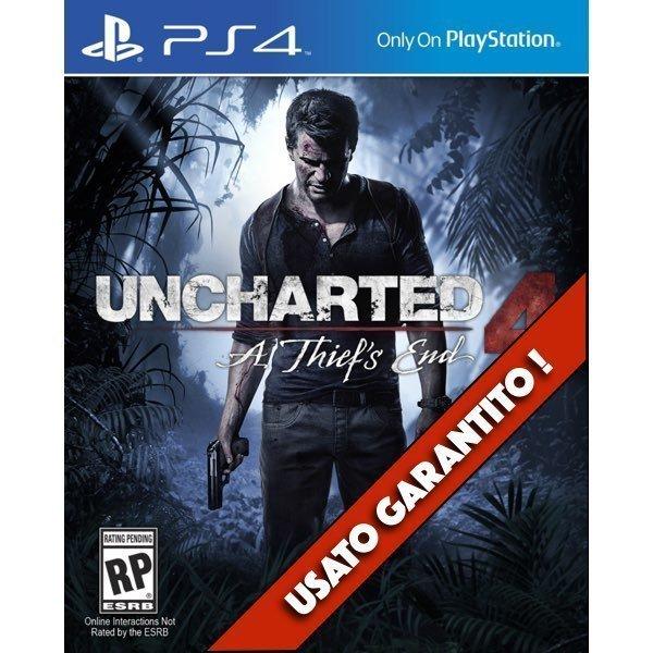 Uncharted 4 Fine di un Ladro PS4 Usato