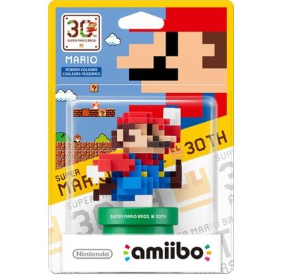 Amiibo Mario Colori Moderni