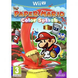 Paper Mario Color Splash WiiU