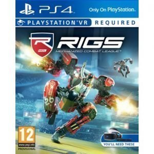RIGS Mechanized Combat PS4