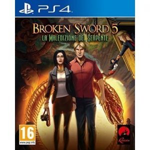 ken Sword 5 La Maledizione del Serpente PS4