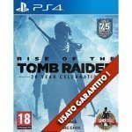 Rise of the Tomb Raider 20 Year Celebration PS4 Usato