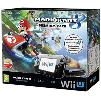 Console Nintendo WiiU Premium Pack 32Gb + Mario Kart 8