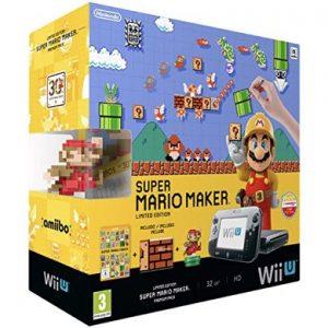 Console Nintendo WiiU Premium Pack 32Gb + Super Mario Maker