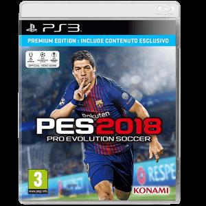 PES 2018 Premium Edition PS3