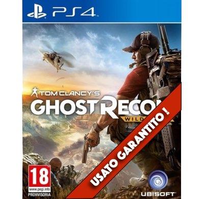 Ghost Recon Wildlands PS4 Usato