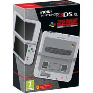 New Nintendo 3DS XL Super Nintendo Limited Edition